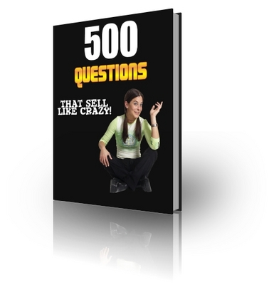 Product picture 500 Questions That Sell Like Crazy - with MRR