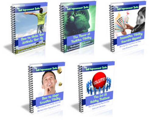 Product picture PLR MRR Self Improvement Buff Series plus 46 bonus Ebooks