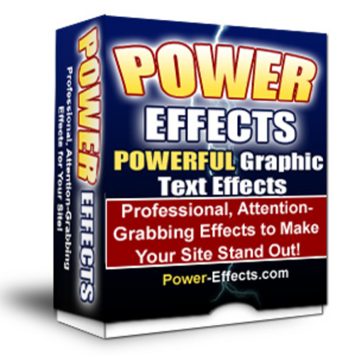 Product picture Power Effects Php Script V2  MRR