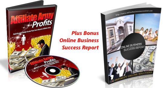 Product picture Affiliate Army Profits Video Training RR Plus Bonus OBSR