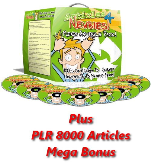 Product picture Articles 4 Newbies Course MRR + PLR 8000 Articles MegaBonus