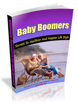 Product picture Ultimate Baby Boomers Resource MRR