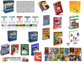 Product picture Christmas Package Graphics Galore Autoresponder Email Ebooks