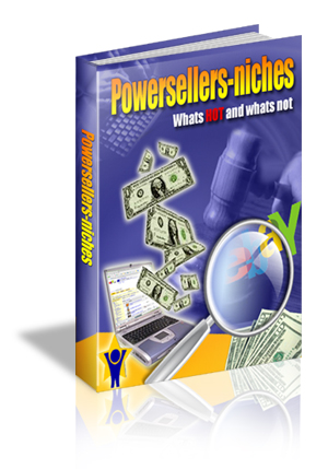 Product picture Ebay Power Seller Niches MRR