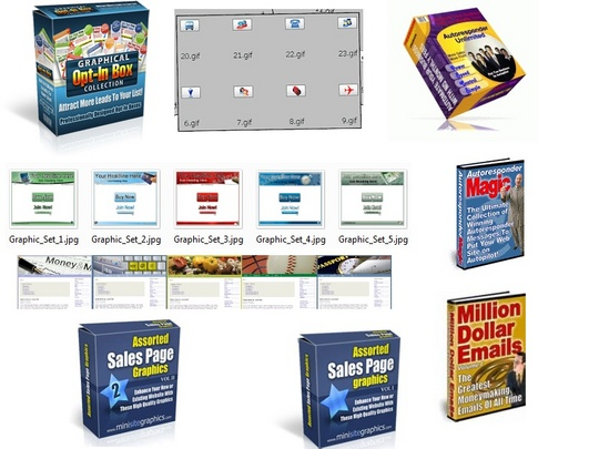 Product picture Graphics Galore 2009 Plus AutoResponder Unlimited