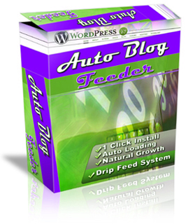 Product picture *NEW* Wordpress Auto Blog Feeder MRR plus 1000 Articles