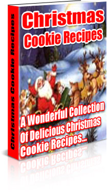 Product picture Christmas Cookie Cookbook Plus 3 Bonuses