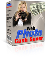 Product picture Web Photo Cash Saver With Master Resale Right MRR