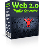 Product picture Web 2.0 Traffic Generator - with MRR